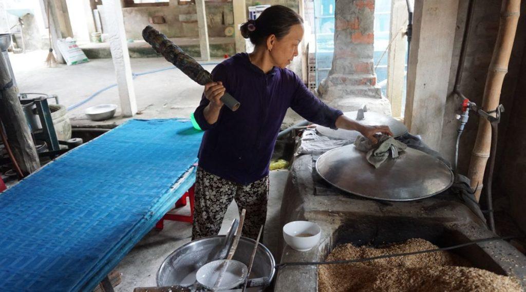 rijstpapier maken Hoi An