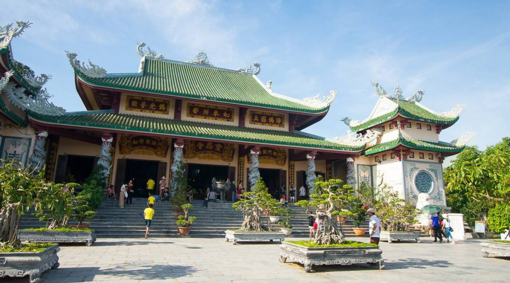 Son Tra Linh Ung pagode