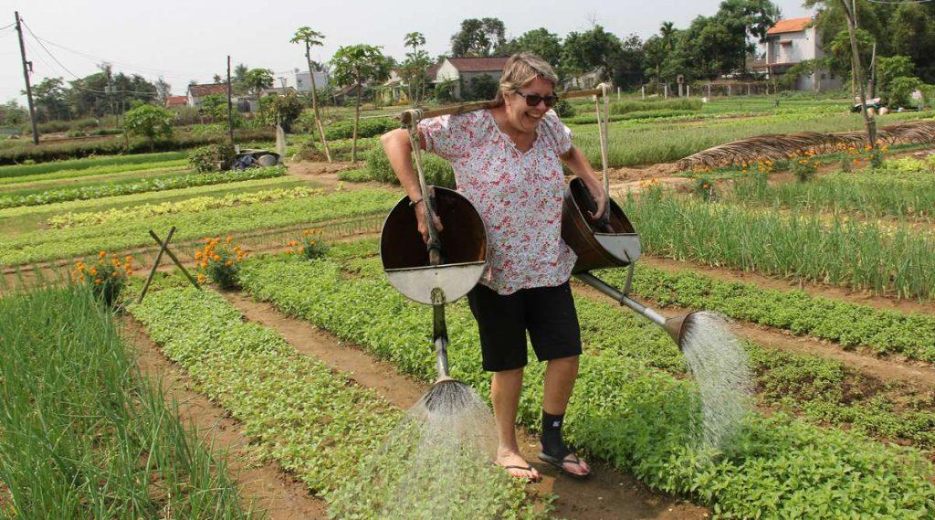 Tra Que groente dorp in Hoi An