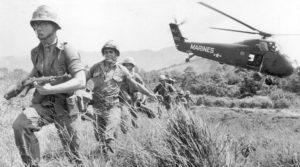Vietnam Oorlog bestemmingen