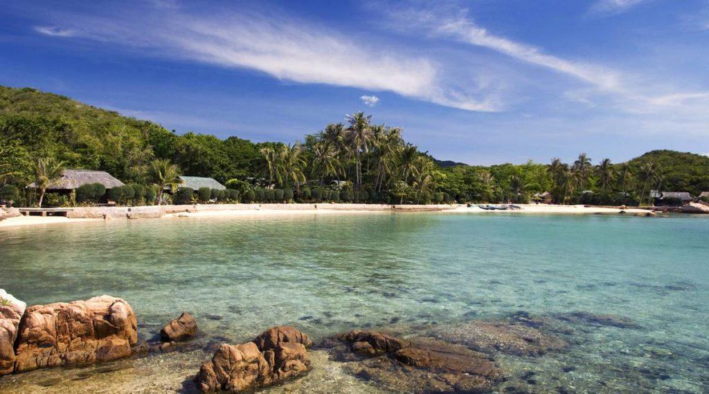 Whale Island strand