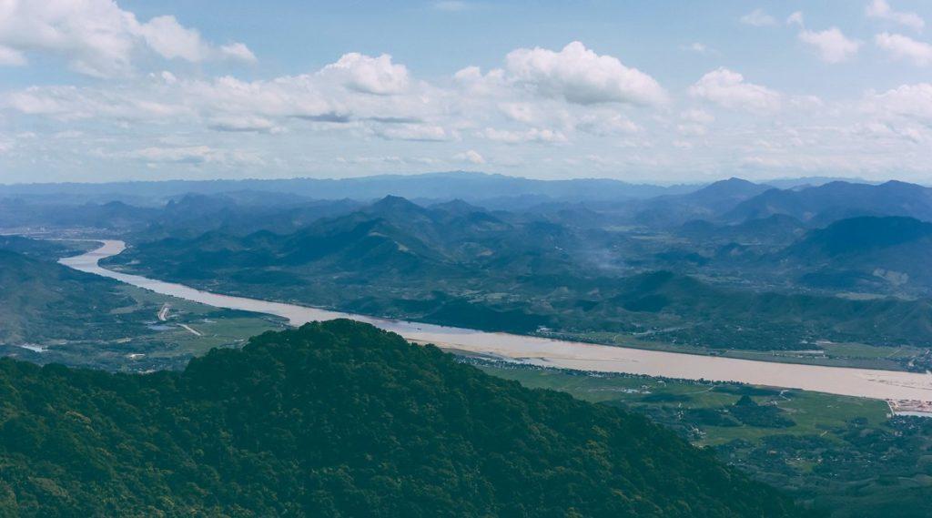 Ba Vi berg Vietnam