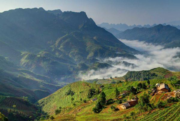 Bergen in Vietnam