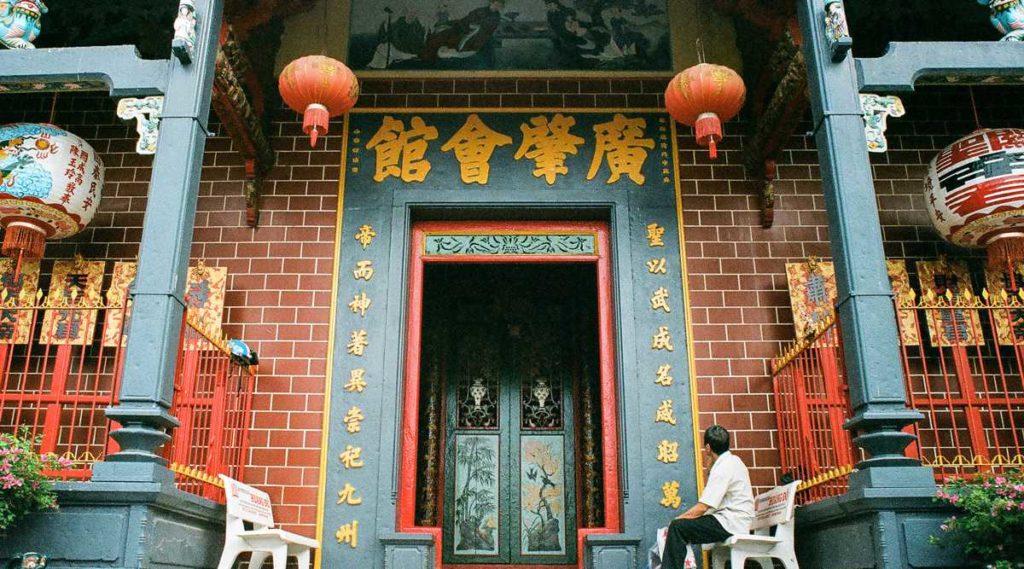Chua Ong-pagode in de Mekong Delta