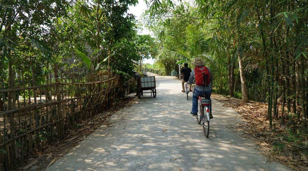 fietsen in Can Tho