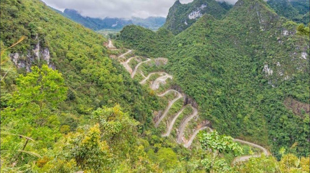 Me Pja Pass uitzichtpunt
