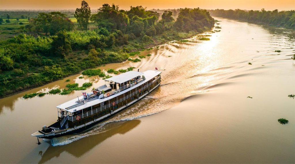 Mekong Delta romantisch cruise