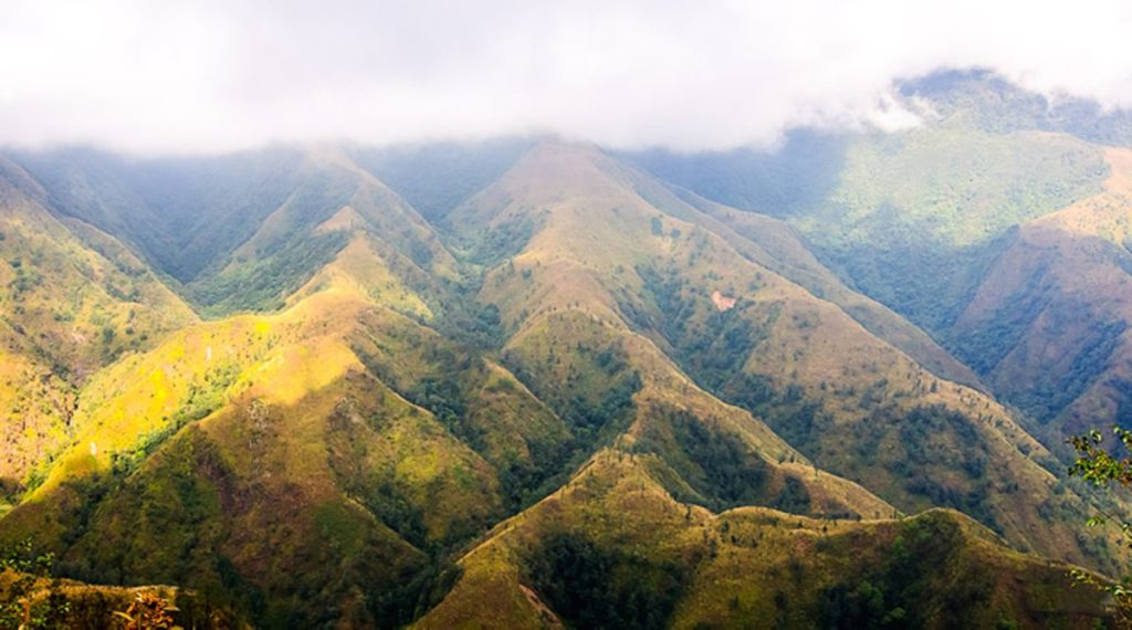 Phu Si Lung berg Vietnam