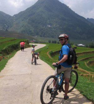 fietsen in Sapa