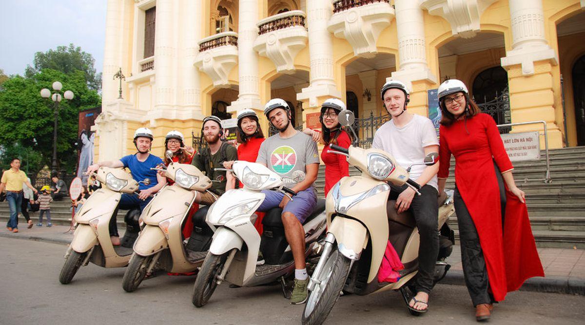 Motor tour Hanoi