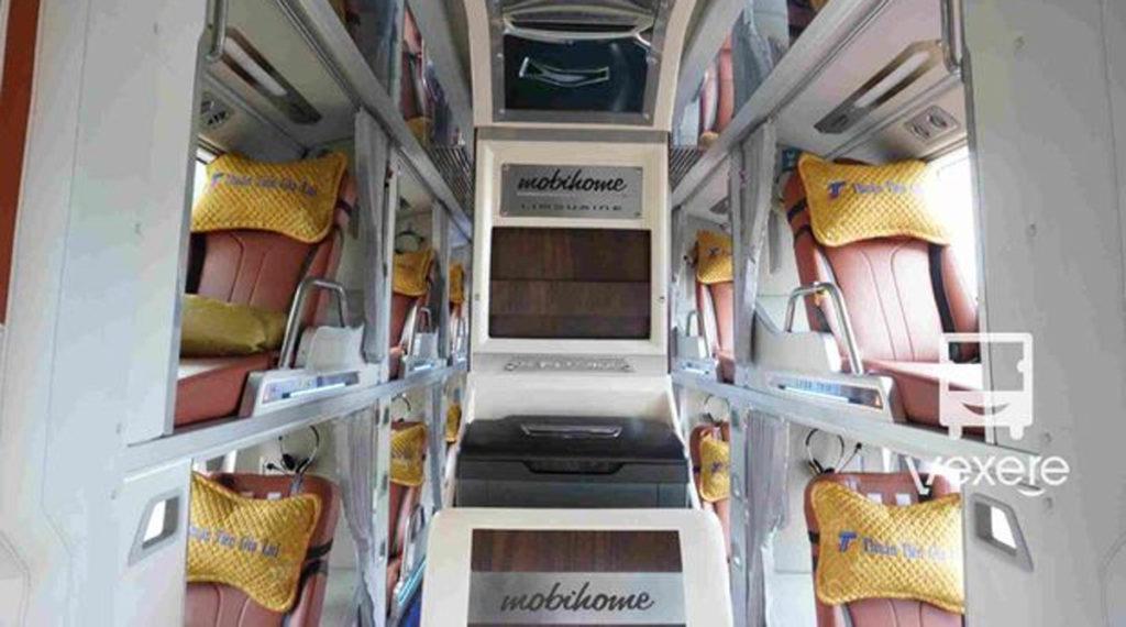 vip slaapbus in Vietnam