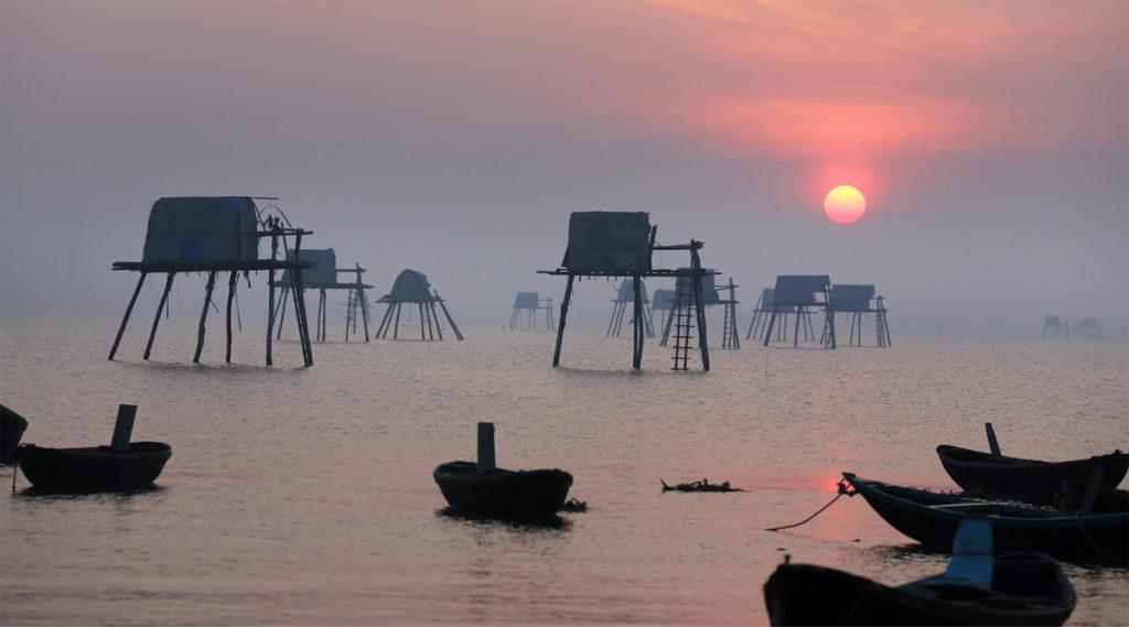 Dong Chau strand