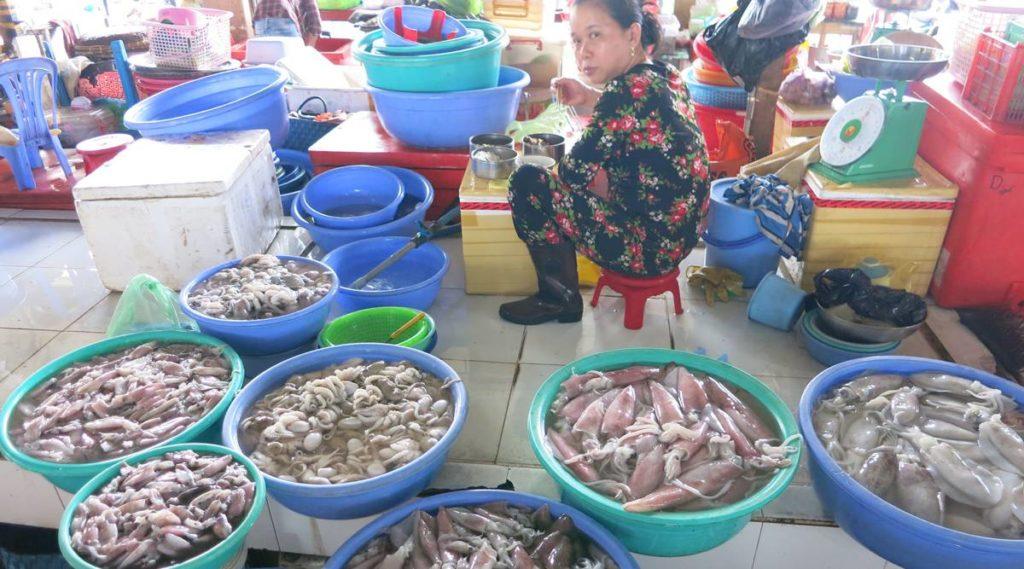 Ha Tien vismarkt