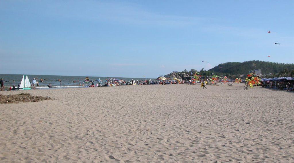 Sam Son strand noord Vietnam