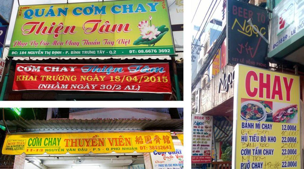 vegetarisch eten Vetnam