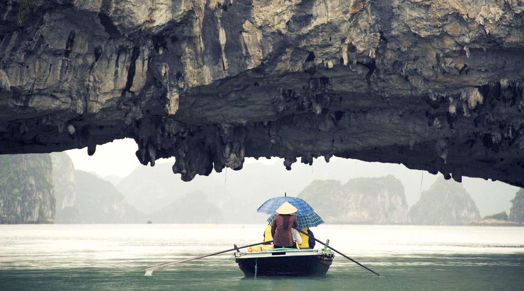 weer en beste reistijd Halong Bay