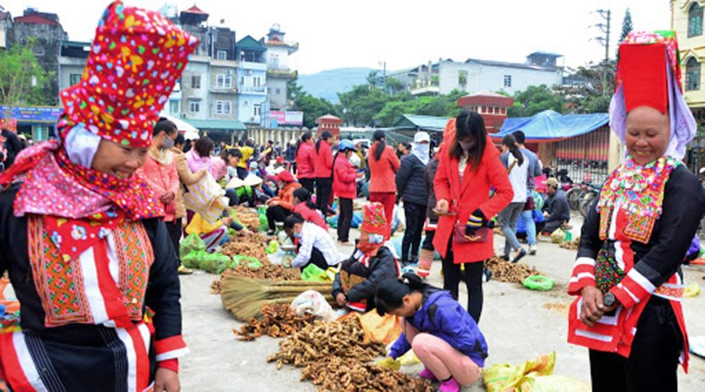 Binh Lieu markt