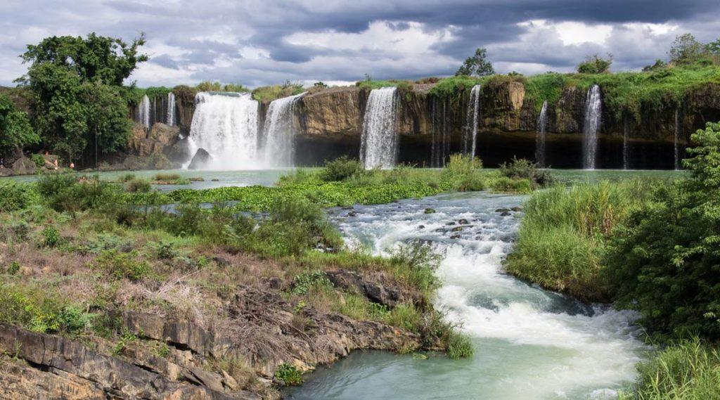 Dray Sap en Dray Nur waterval in Dak Lak