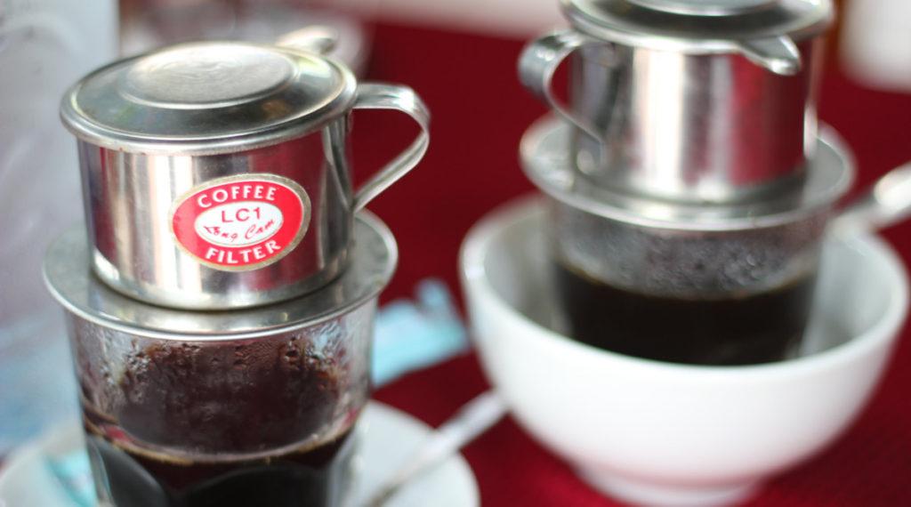filter koffie Vietnam