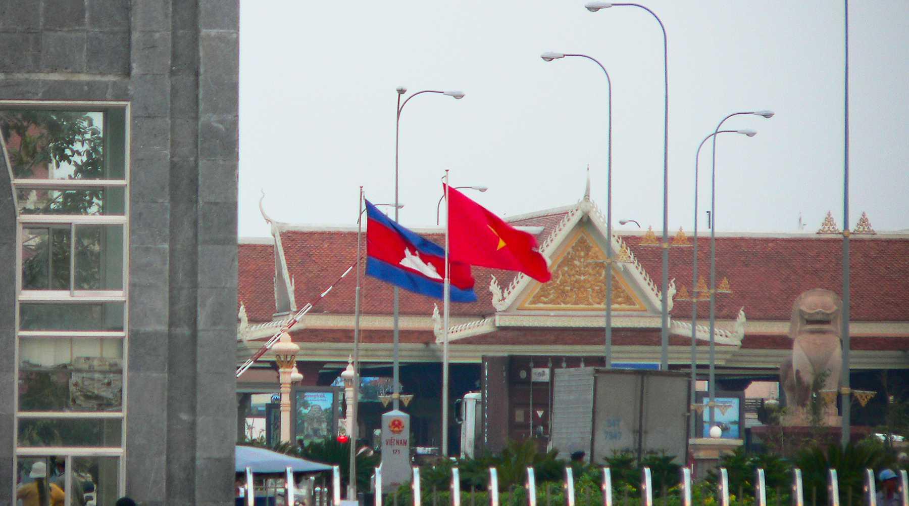 Grensovergangen Cambodja – Vietnam