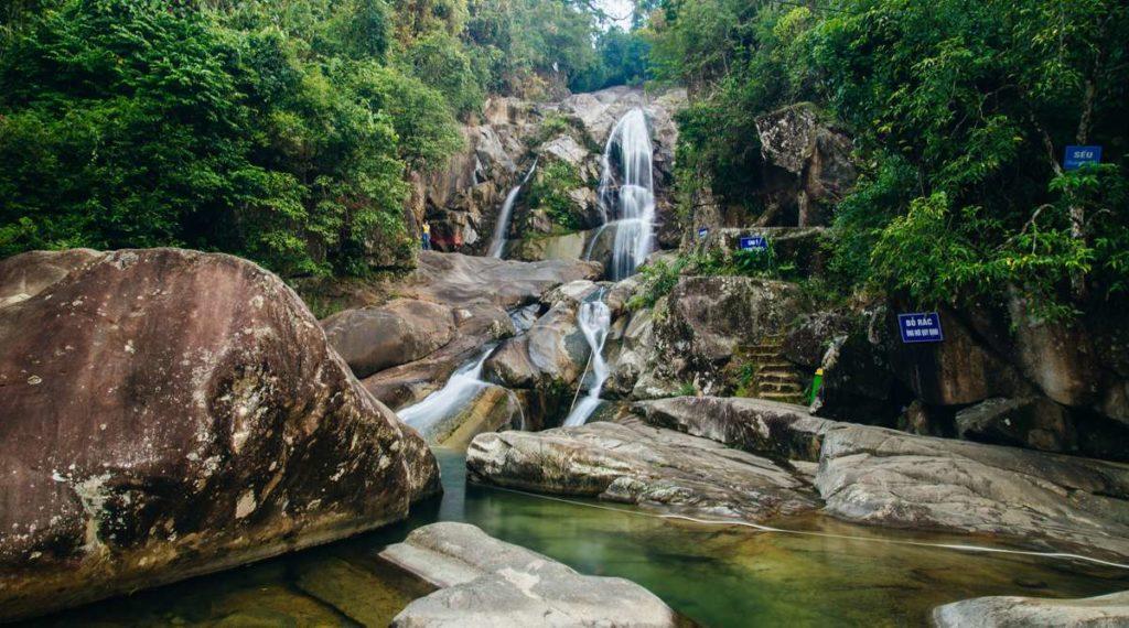 Khe Van waterval