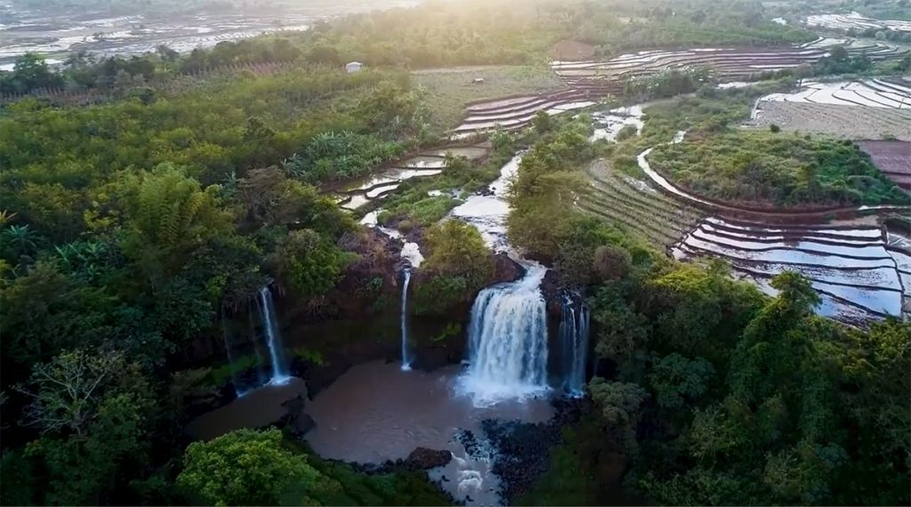 Kueng O waterval