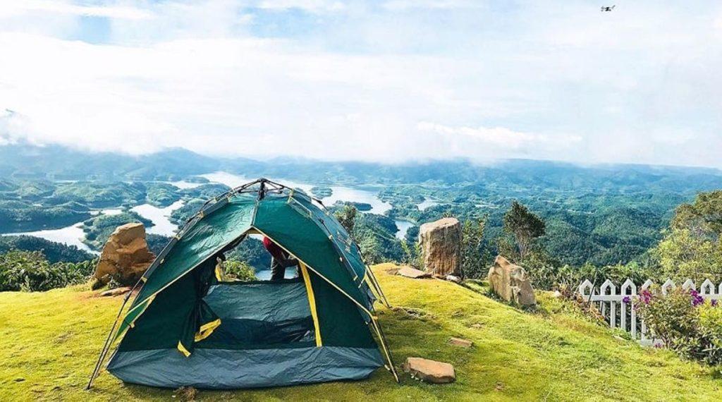 Ta Dung kamperen