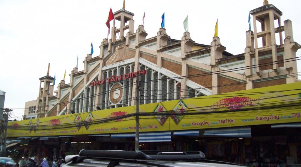Tan Dinh markt