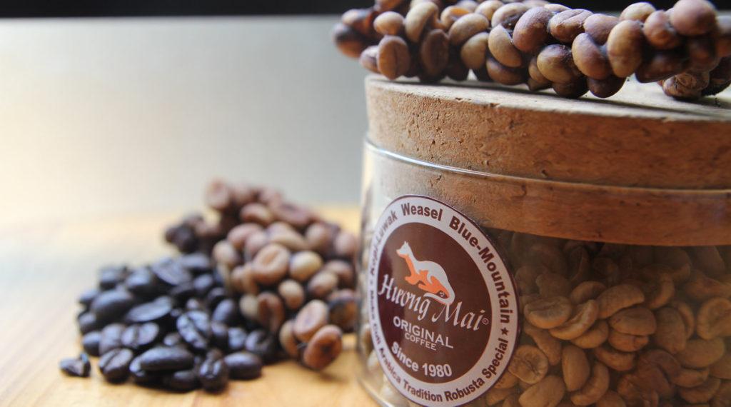 Wezel koffie Vietnam