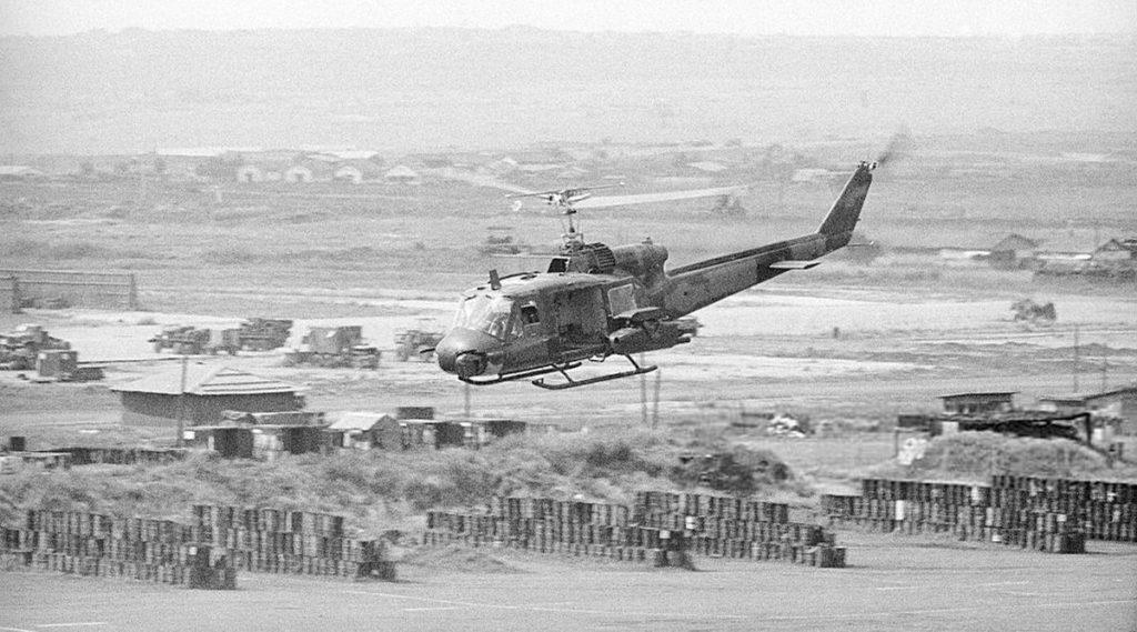 Vietnam oorlog in de centrale hooglanden