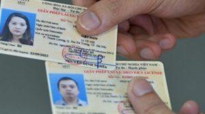 Vietnamees rijbewijs