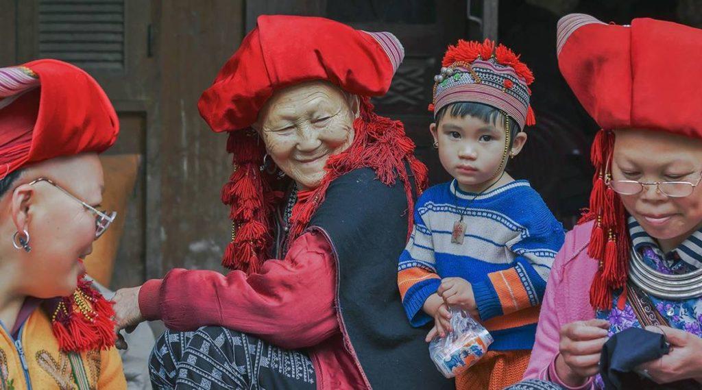 etnische minderheden in Ta Van Sapa