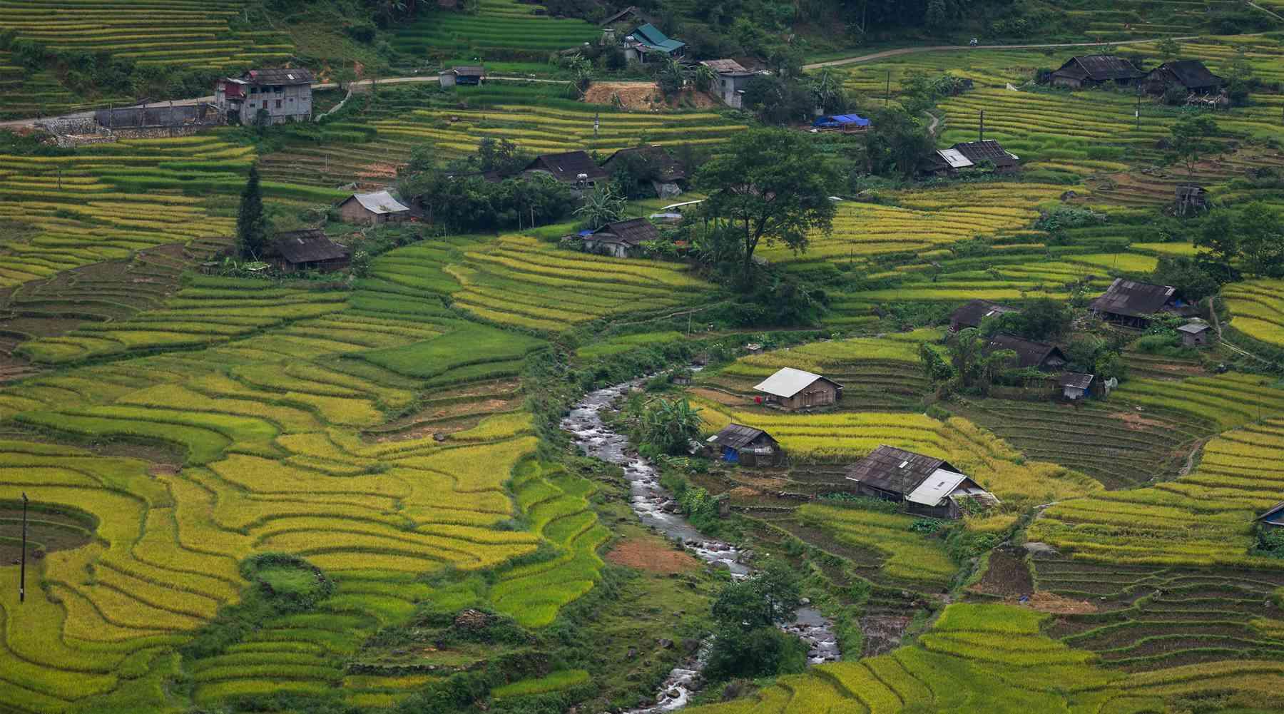 Ta Van dorp nabij Sapa