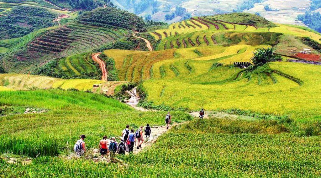 Ta Van trekkingen in Sapa