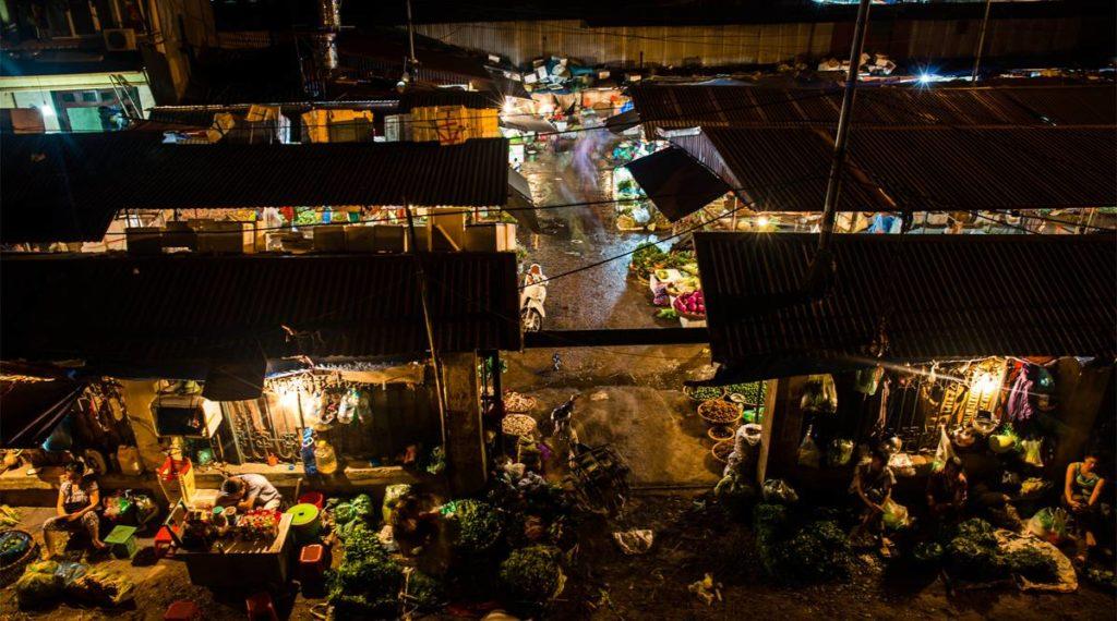 Long Bien markt