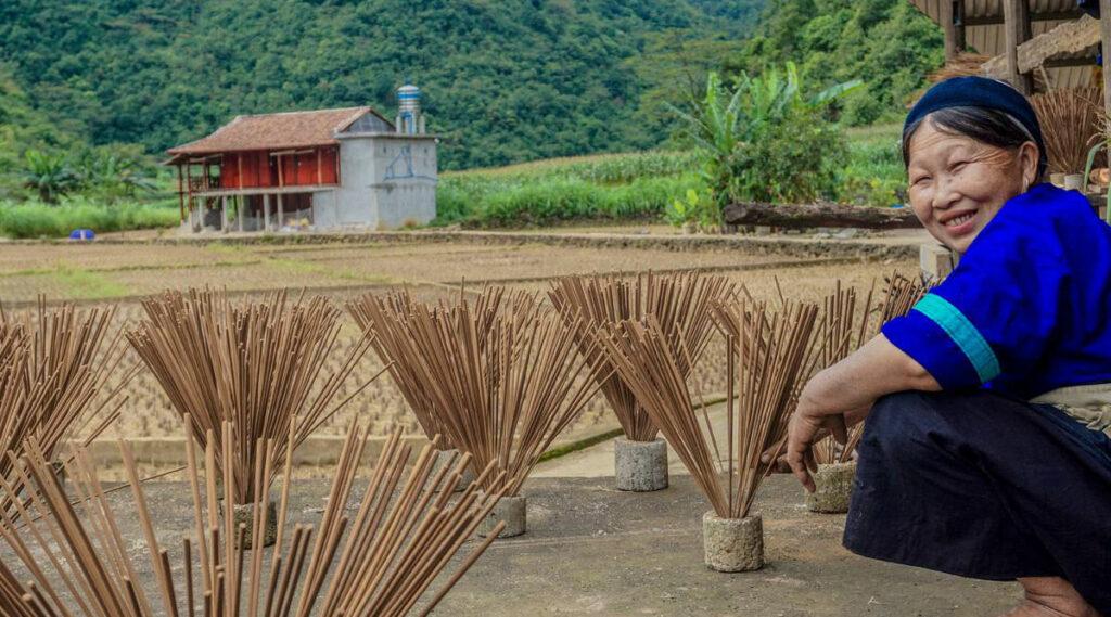 etnische minderheden Cao Bang