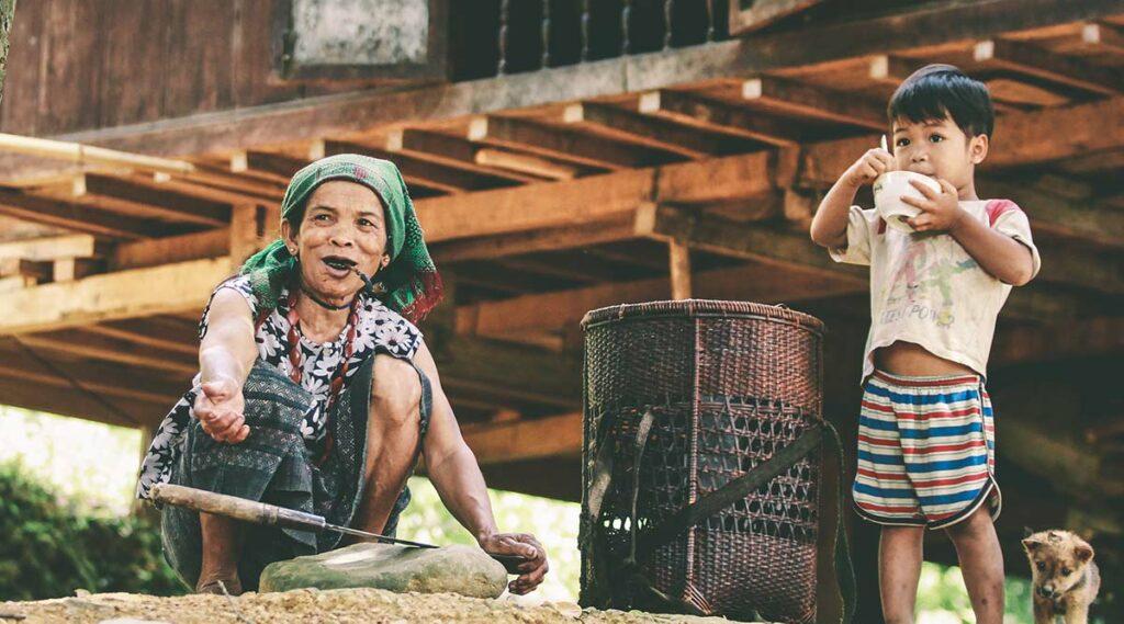 Phong Nha etnische minderheden