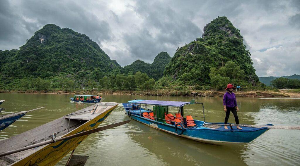 Phong Nha grot boottocht