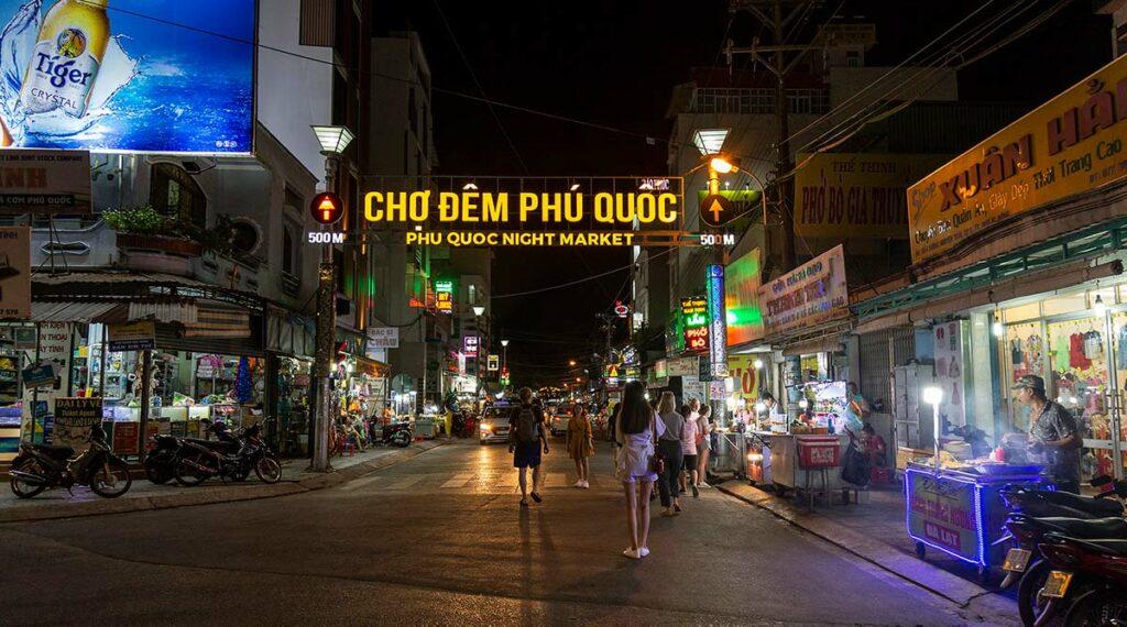 Phu Quoc nachtmarkt