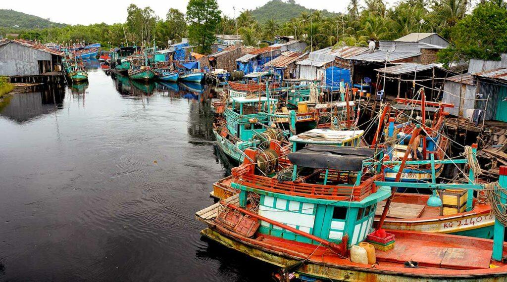 Phu Quoc vissersdorp